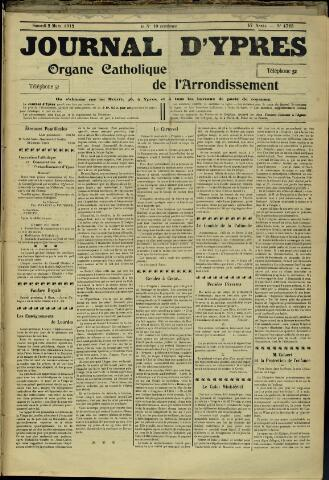 Journal d'Ypres (1874 - 1913) 1912-03-02