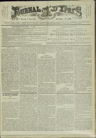 Journal d'Ypres (1874 - 1913) 1877-08-01