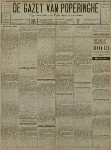 De Gazet van Poperinghe  (1921-1940) 1931-03-22