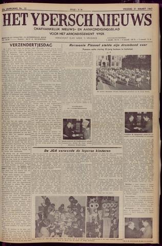 Het Ypersch nieuws (1929-1971) 1967-03-31