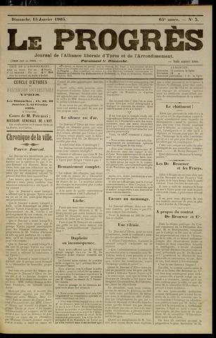 Le Progrès (1841-1914) 1905-01-15