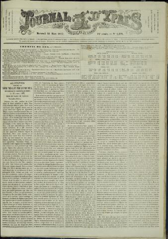 Journal d'Ypres (1874 - 1913) 1877-03-21