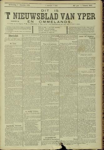 Nieuwsblad van Yperen en van het Arrondissement (1872 - 1912) 1905-12-02