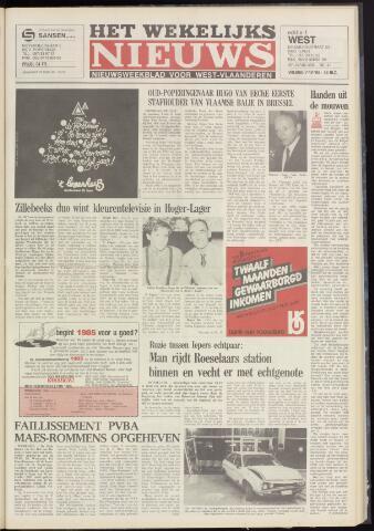 Het Wekelijks Nieuws (1946-1990) 1984-12-07