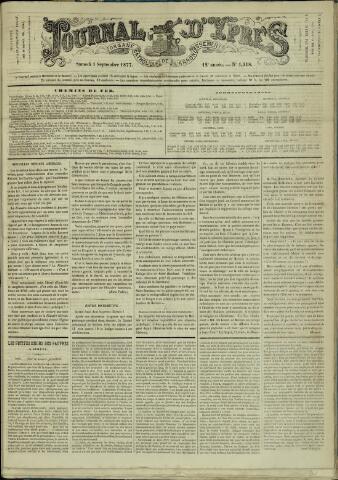Journal d'Ypres (1874 - 1913) 1877-09-01