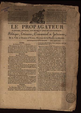Le Propagateur (1818-1871) 1819