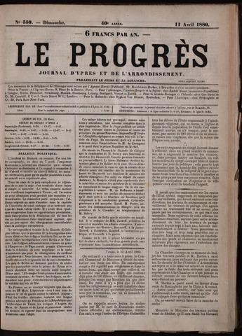 Le Progrès (1841-1914) 1880-04-11