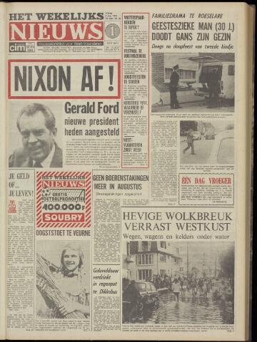 Het Wekelijks Nieuws (1946-1990) 1974-08-09