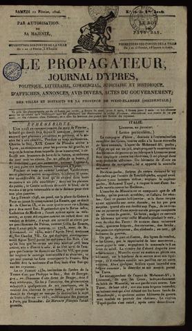 Le Propagateur (1818-1871) 1826