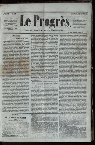 Le Progrès (1841-1914) 1847-08-22