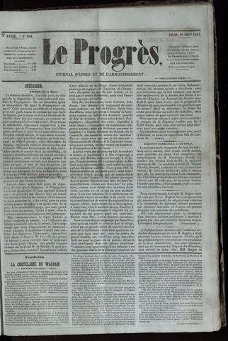 Le Progrès (1841-1914) 1847-08-12