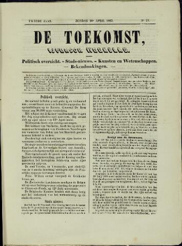 De Toekomst (1862 - 1894) 1863-04-26