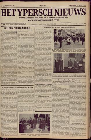 Het Ypersch nieuws (1929-1971) 1964-06-27