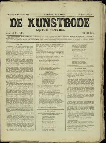 De Kunstbode (1880 - 1883) 1882-12-03