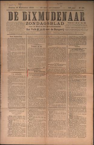 De Dixmudenaar 1909-09-13