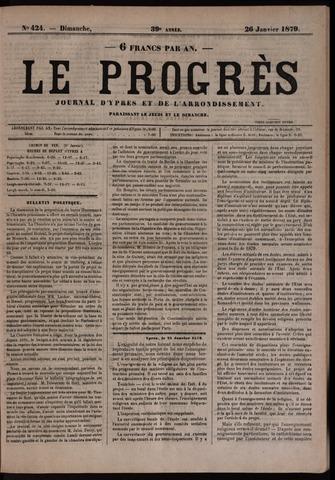 Le Progrès (1841-1914) 1879-01-26