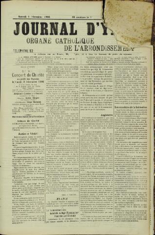 Journal d'Ypres (1874 - 1913) 1906-12-01