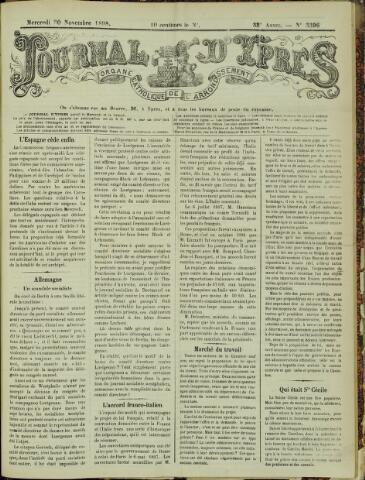 Journal d'Ypres (1874 - 1913) 1898-11-30