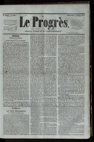 Le Progrès (1841-1914) 1847-07-11