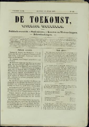 De Toekomst (1862 - 1894) 1863-07-12