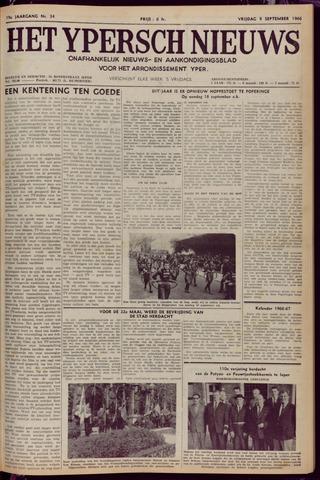Het Ypersch nieuws (1929-1971) 1966-09-09
