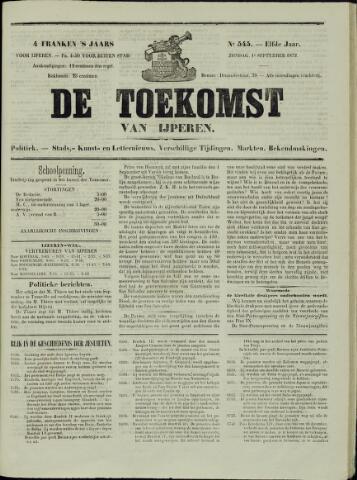 De Toekomst (1862 - 1894) 1872-09-01