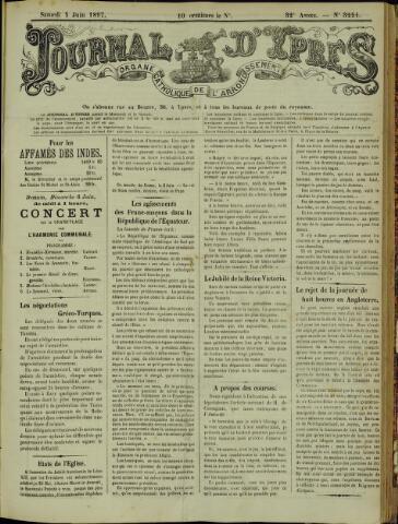 Journal d'Ypres (1874 - 1913) 1897-06-05