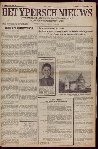 Het Ypersch nieuws (1929-1971) 1967-02-17