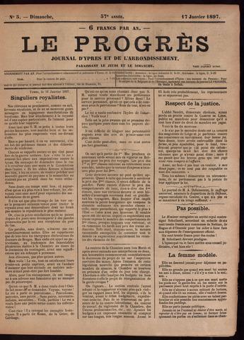 Le Progrès (1841-1914) 1897-01-17