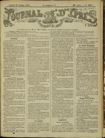 Journal d'Ypres (1874 - 1913) 1898-10-29