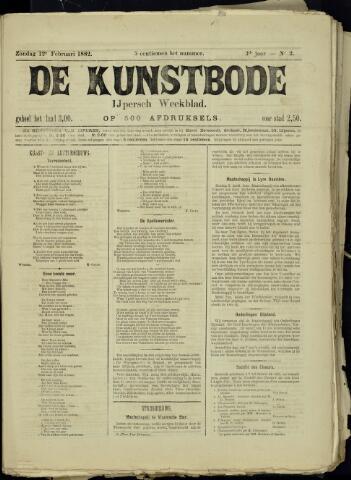 De Kunstbode (1880 - 1883) 1882-02-12