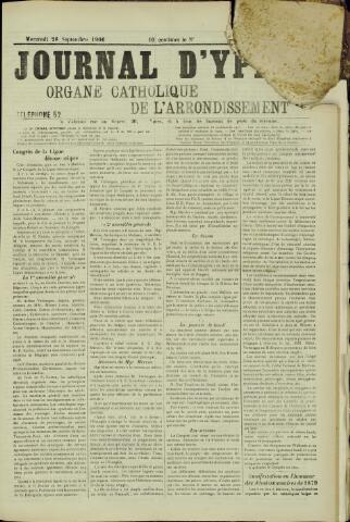 Journal d'Ypres (1874 - 1913) 1906-09-26