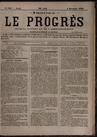 Le Progrès (1841-1914) 1879-12-04