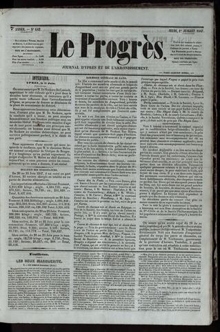 Le Progrès (1841-1914) 1847-07-01