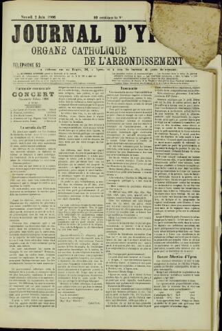 Journal d'Ypres (1874 - 1913) 1906-07-02