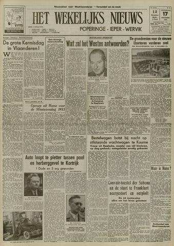 Het Wekelijks Nieuws (1946-1990) 1953-10-17
