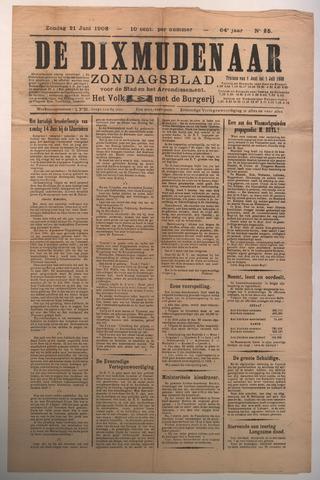 De Dixmudenaar 1908-06-21