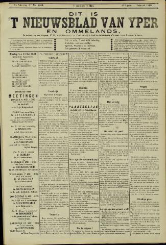 Nieuwsblad van Yperen en van het Arrondissement (1872 - 1912) 1902-05-03
