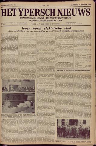 Het Ypersch nieuws (1929-1971) 1963-10-19