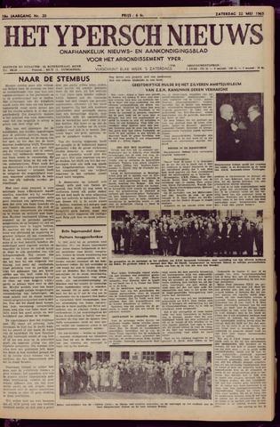 Het Ypersch nieuws (1929-1971) 1965-05-22