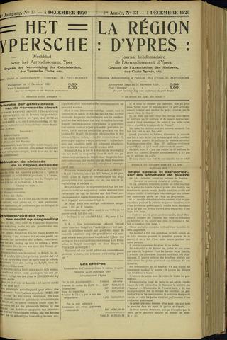 Het Ypersche (1925 - 1929) 1920-12-04