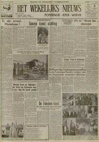 Het Wekelijks Nieuws (1946-1990) 1953-10-03