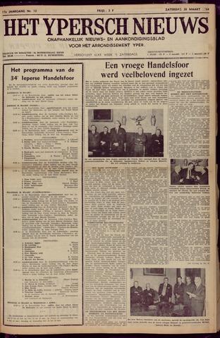 Het Ypersch nieuws (1929-1971) 1964-03-28
