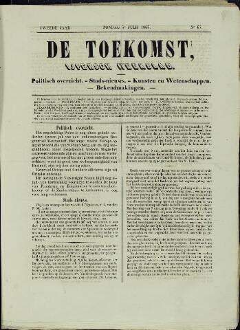 De Toekomst (1862 - 1894) 1863-07-05