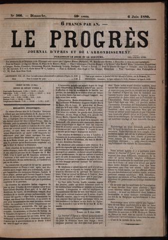 Le Progrès (1841-1914) 1880-06-06