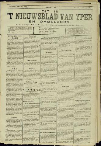 Nieuwsblad van Yperen en van het Arrondissement (1872 - 1912) 1899-07-29