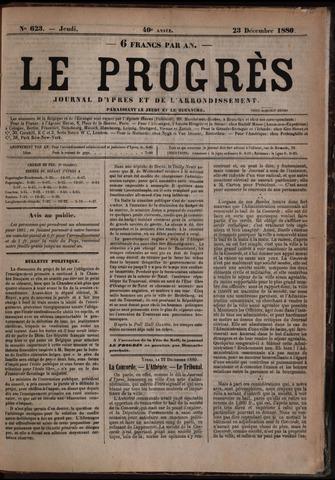 Le Progrès (1841-1914) 1880-12-23