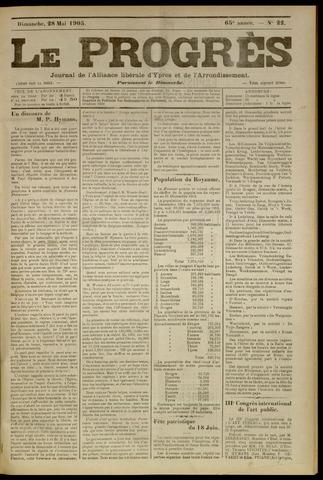 Le Progrès (1841-1914) 1905-05-28