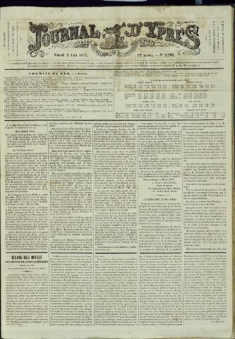 Journal d'Ypres (1874 - 1913) 1877-06-02