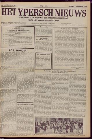 Het Ypersch nieuws (1929-1971) 1966-11-04